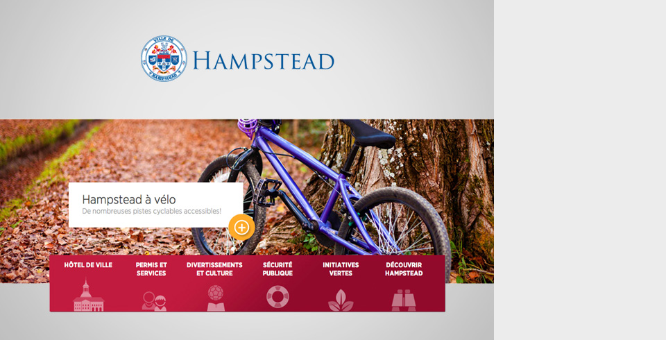 Ville de Hampstead - Site Web