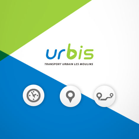 Urbis – Transport urbain Les Moulins - Site Web