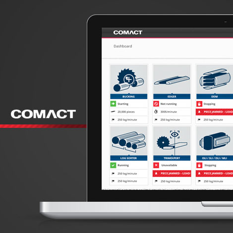 Comact - Application et design d'icônes